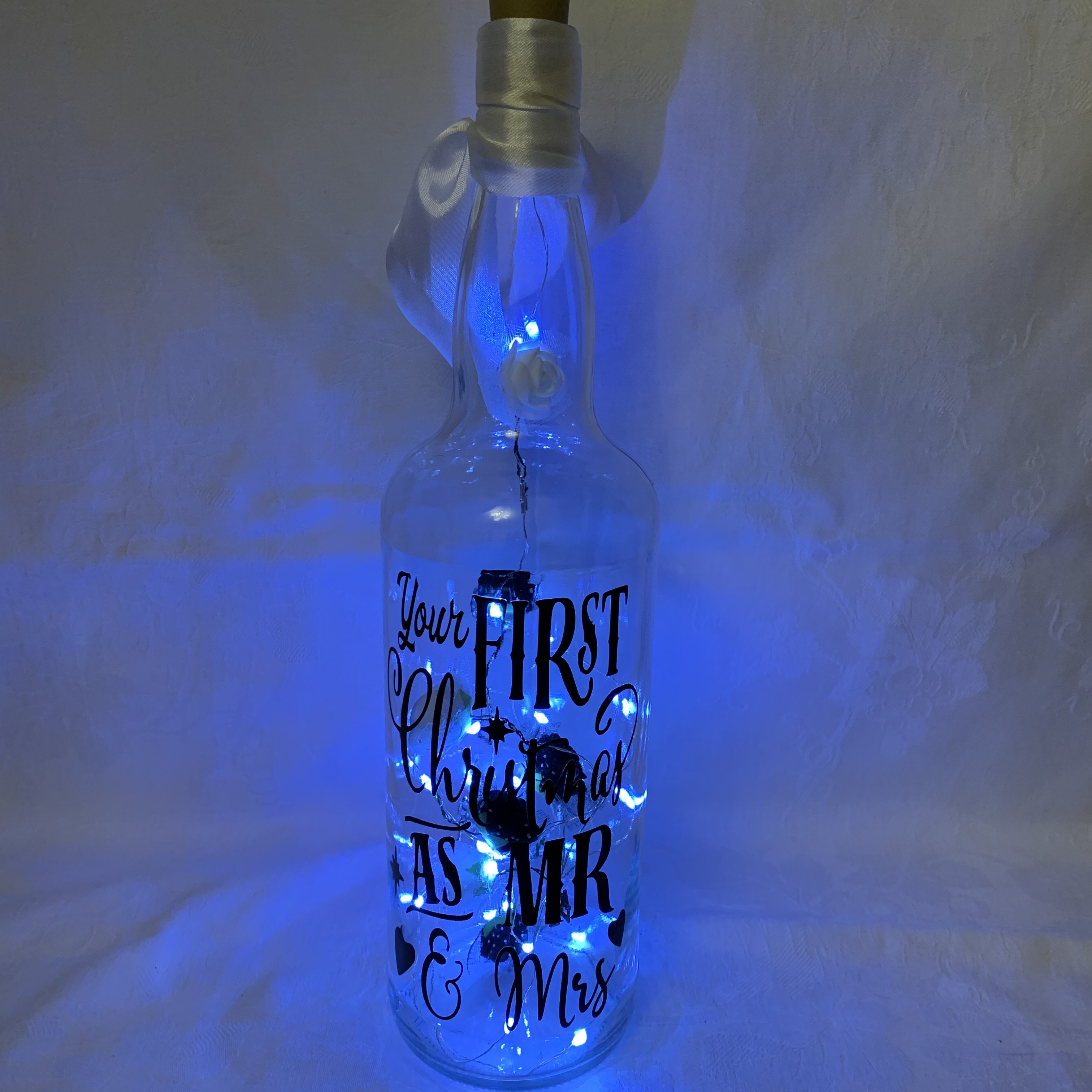 Bottle Christmas Mr&Mrs A £8
