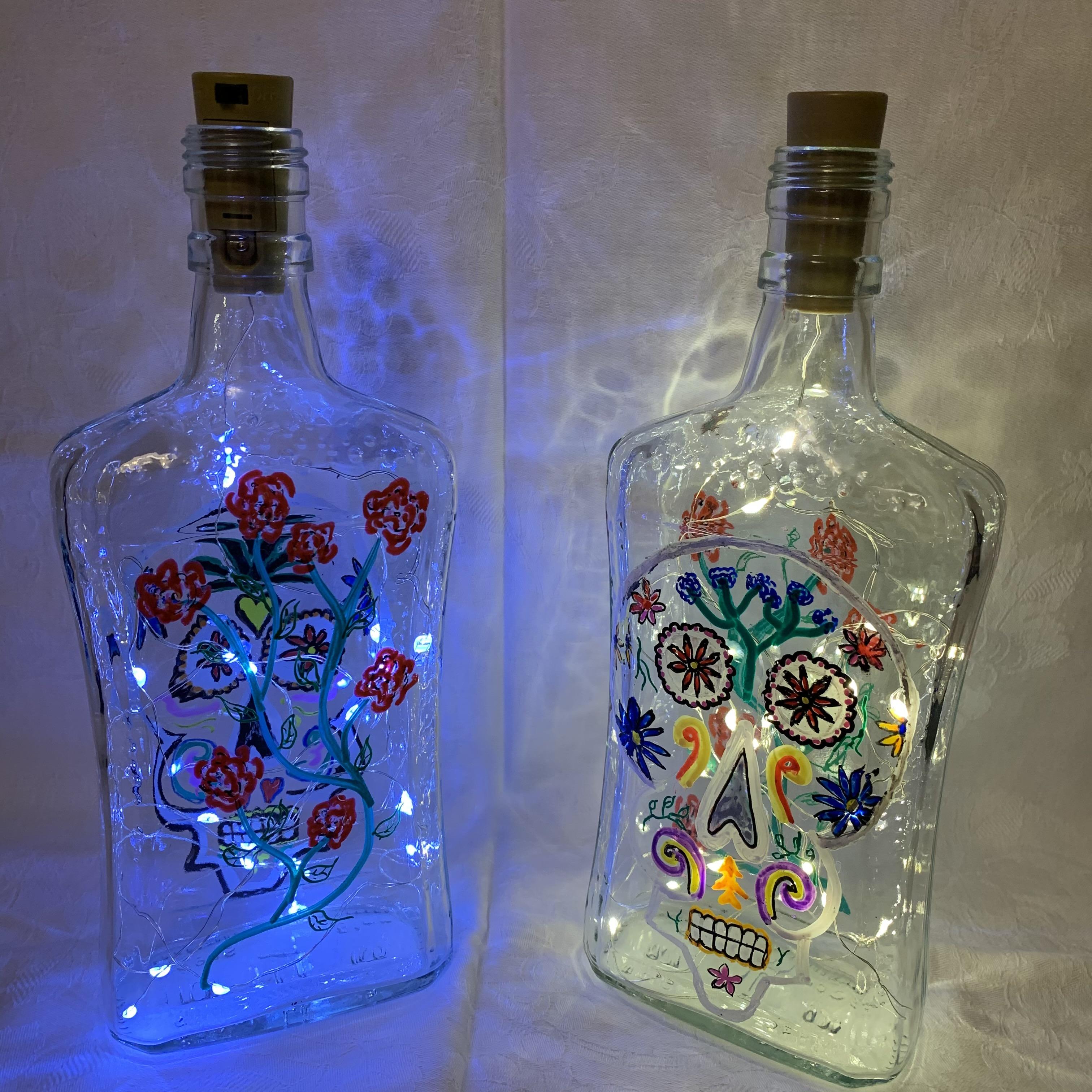 Bottle Day of the Dead A £6 each