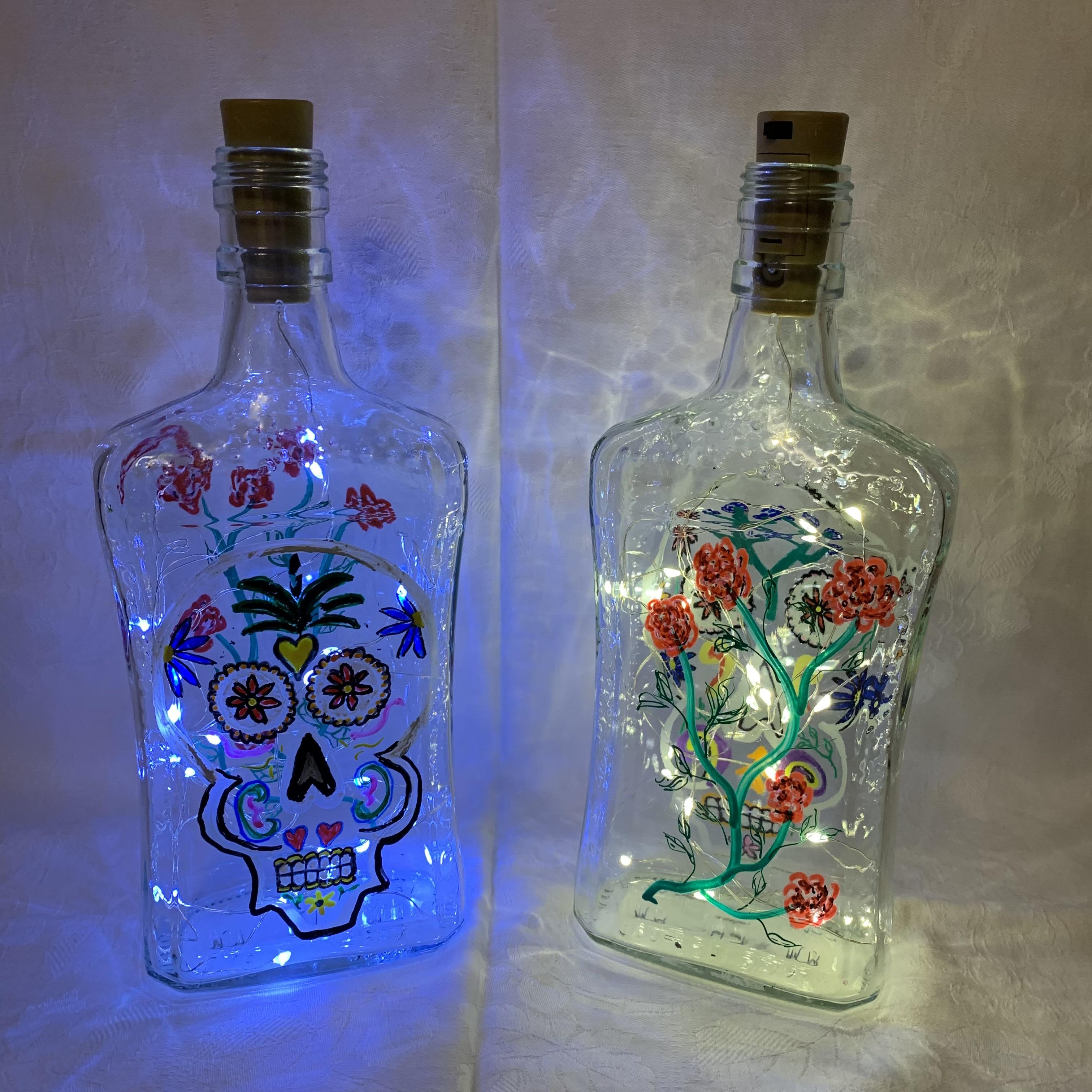 Bottle Day of the Dead B