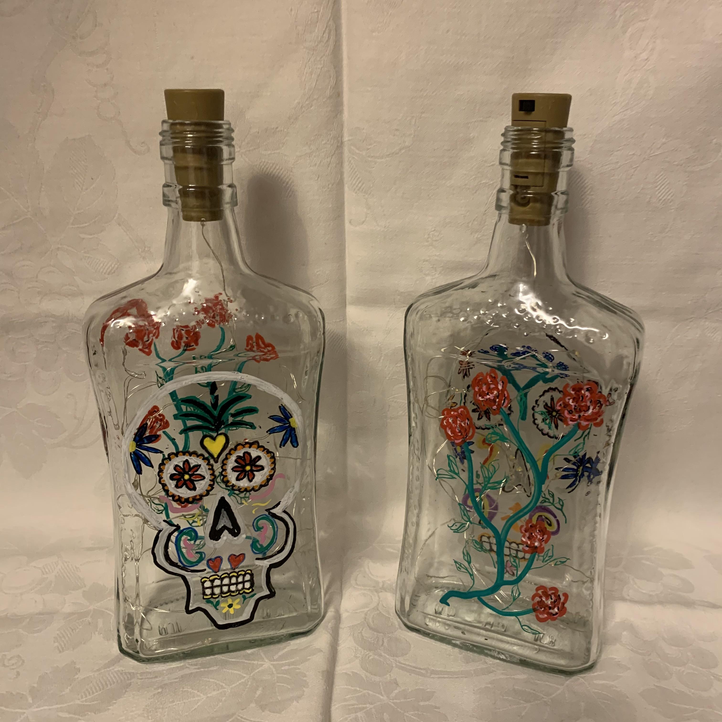 Bottle Day of the Dead C